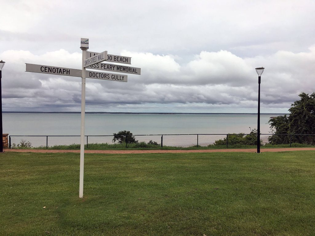 Bicentennial Park in Darwin