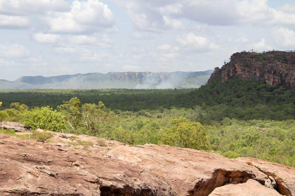 Buschfeuer im Kakadu Nationalpark
