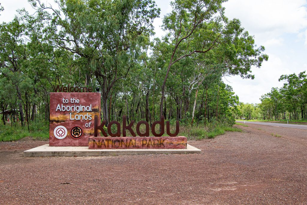 Kakadu Nationalpark Eingang