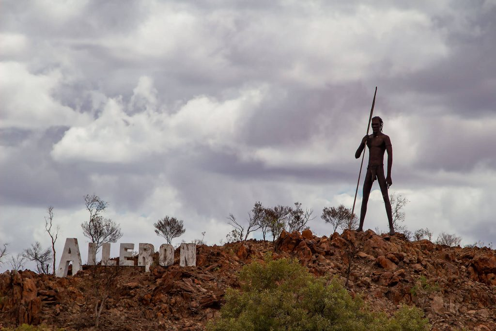 Aileron im Outback