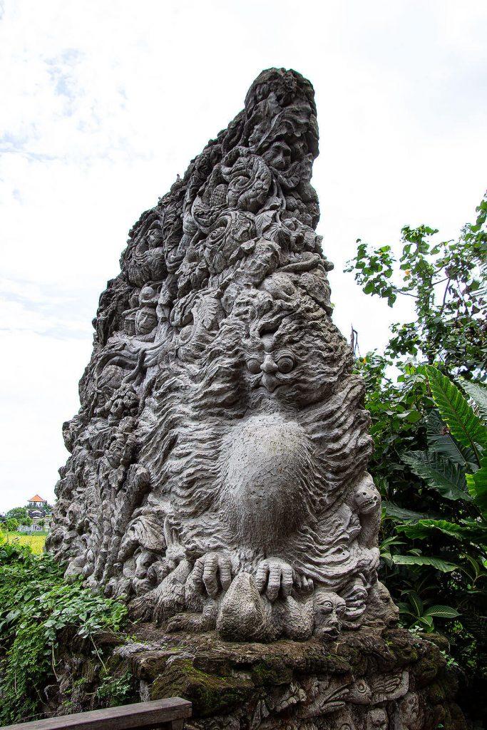 Eingang im Sacred Monkey Forest Sanctuary Ubud