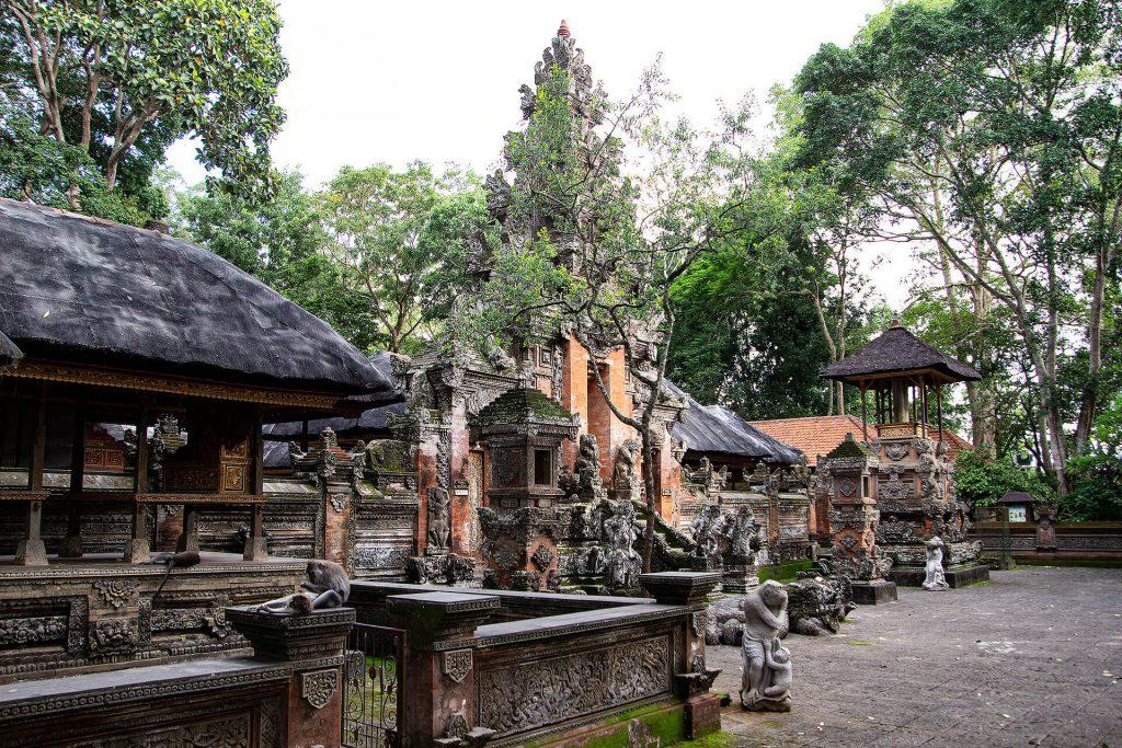 Tempel im Sacred Monkey Forest Sanctuary Ubud
