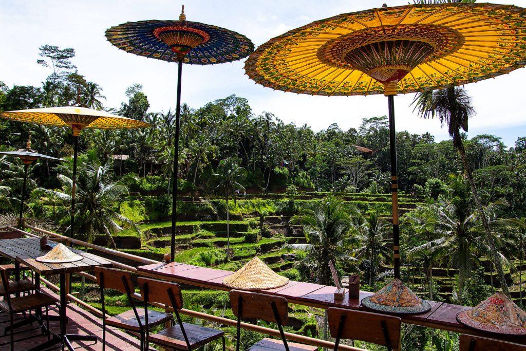 Café bei den Reisterassen von Tegallalang
