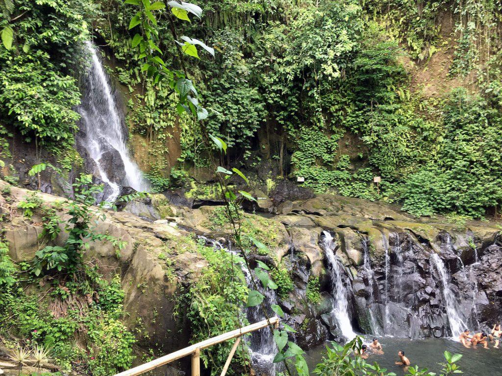 Taman Sari Wasserfall