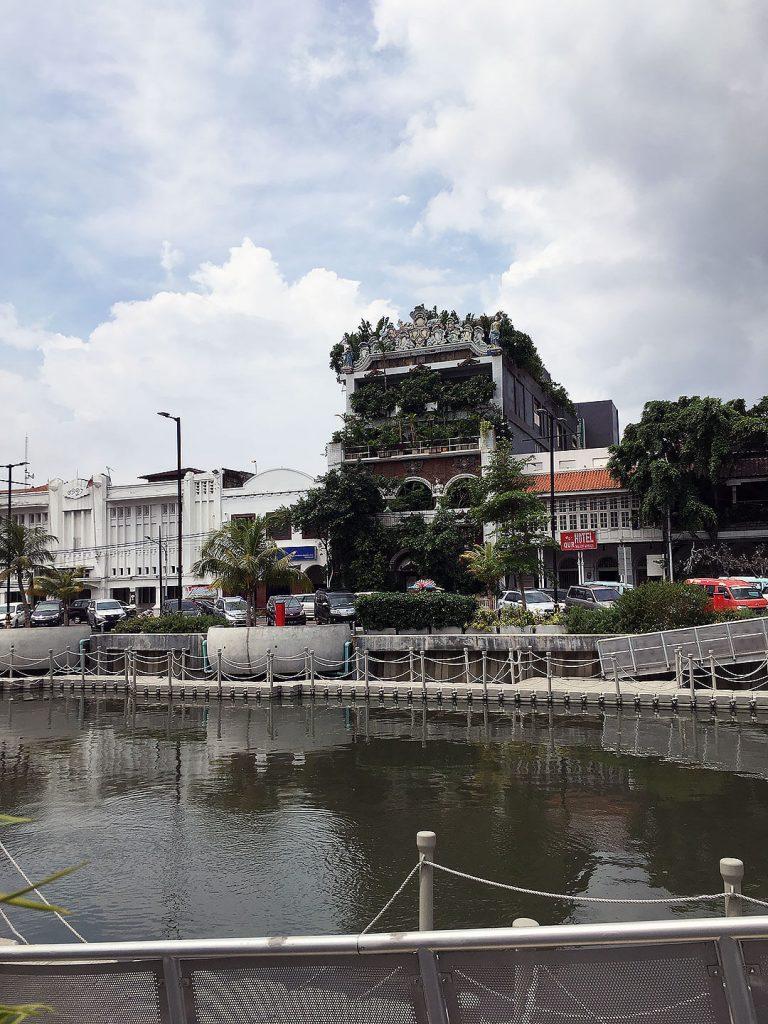 Jalan Kali Besar Timur Straße in Jakarta