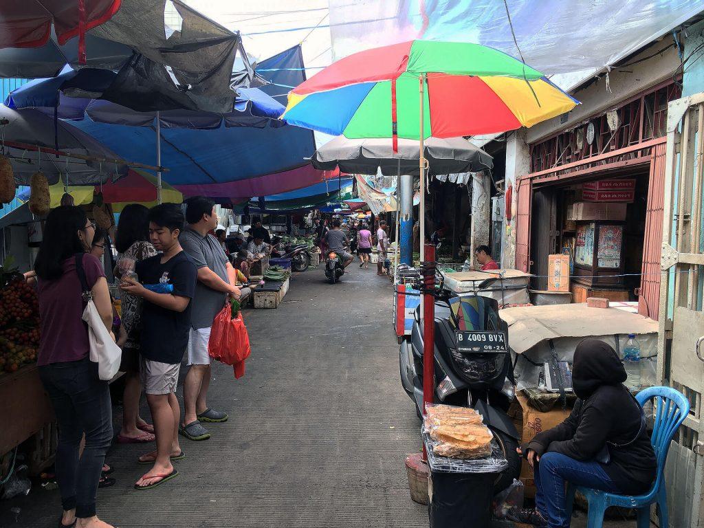 Markt in Jakarta