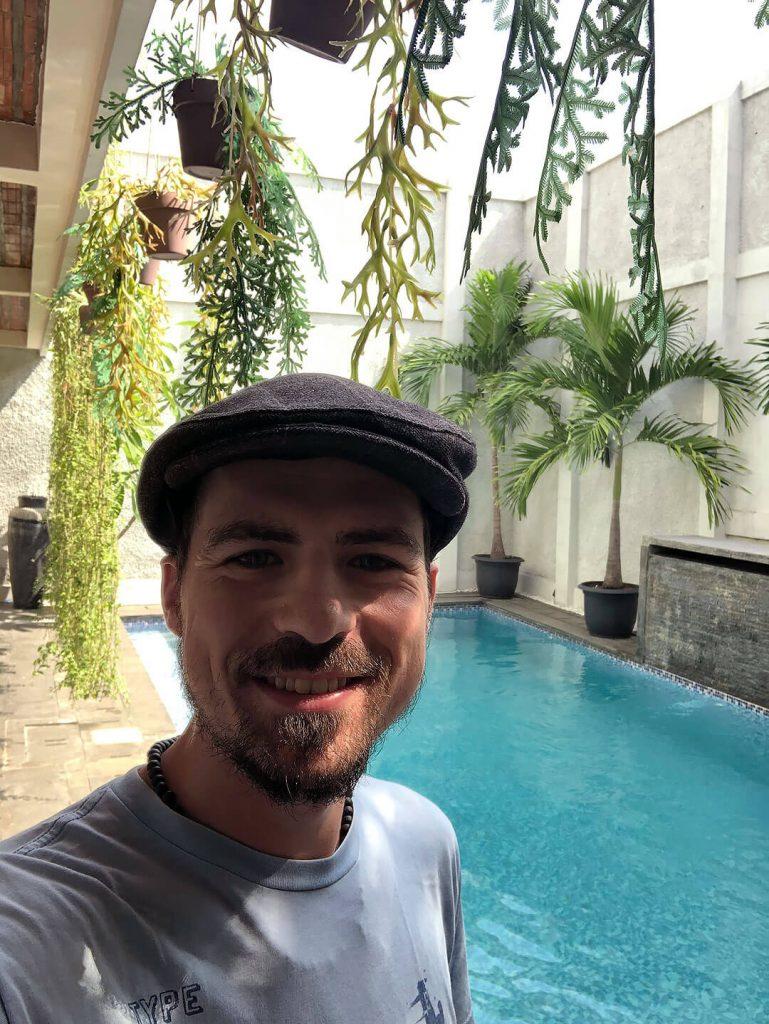 Berti im Otu Hostel in Yogjakarta