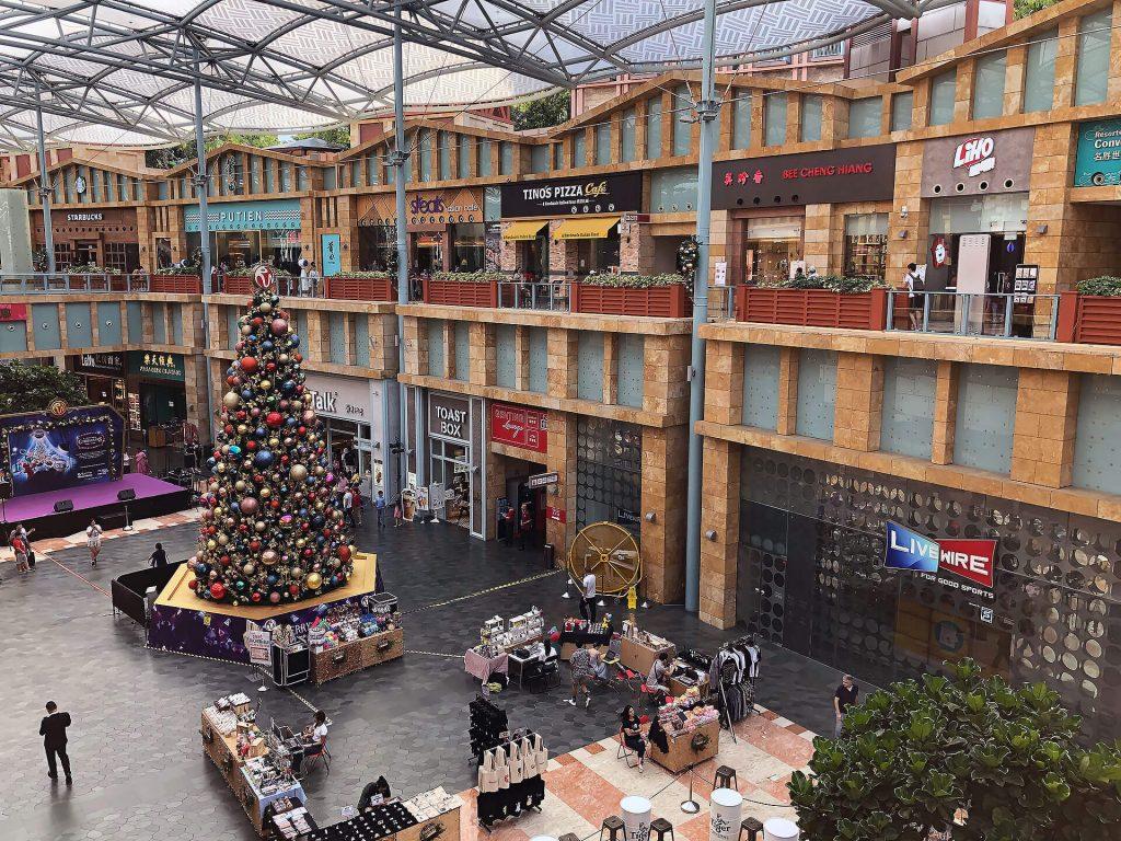 Mall auf Sentosa Island