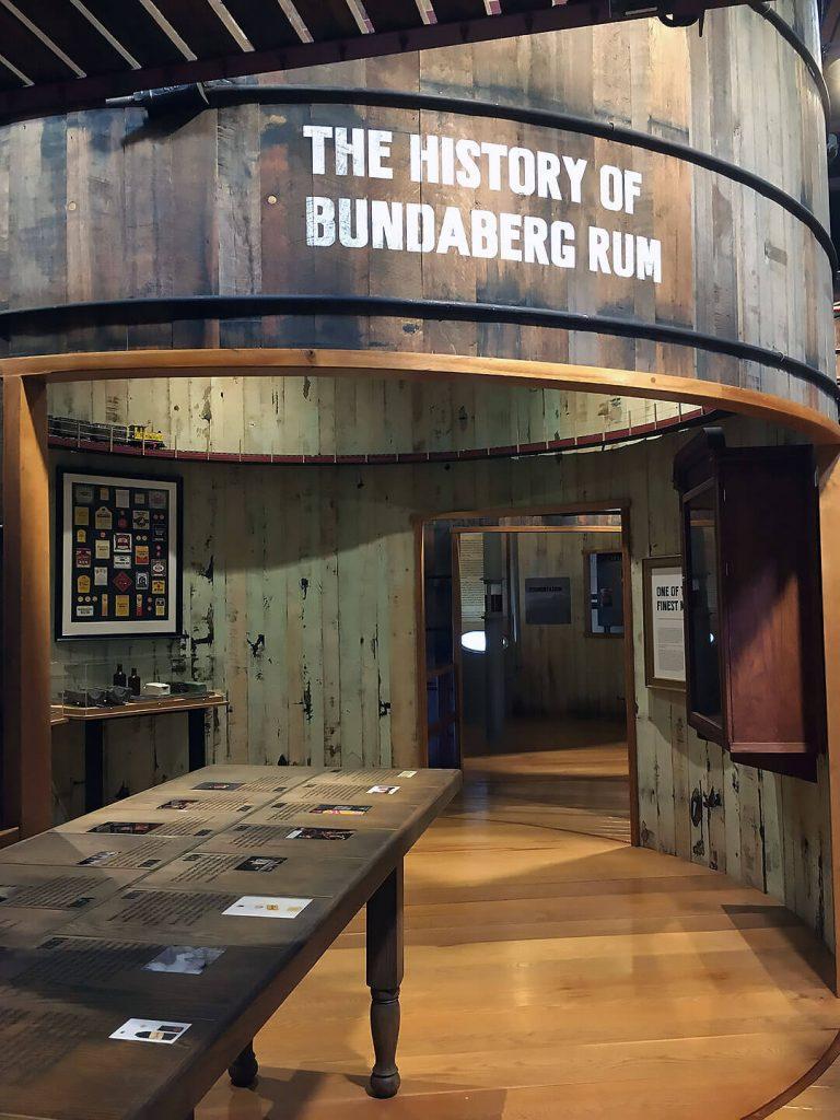 Im Museum der Bundaberg Rum Distillerie