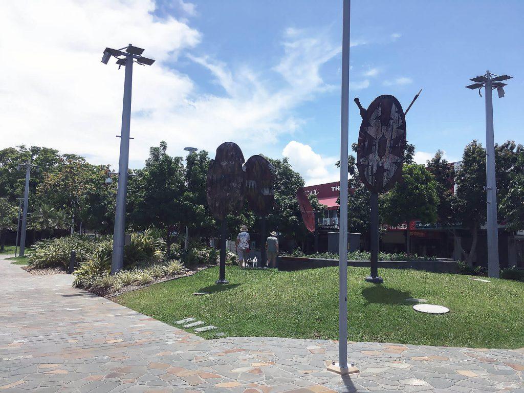Innenstadt von Cairns