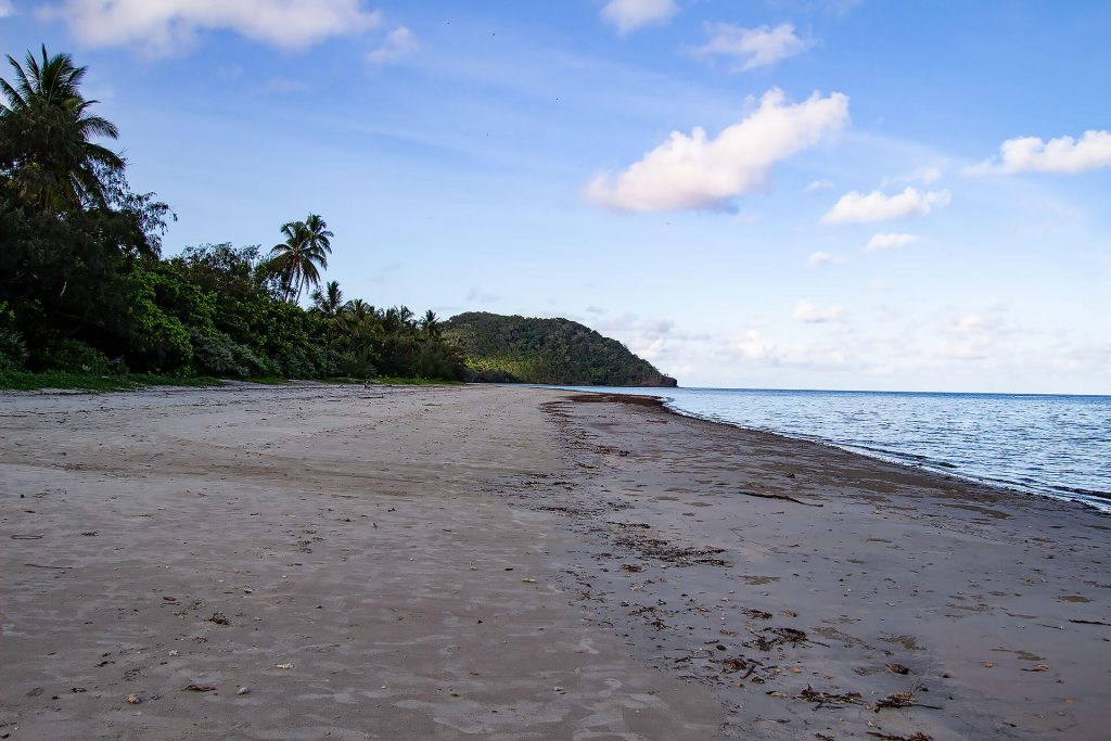 Myall Beach bei Cape Tribulation