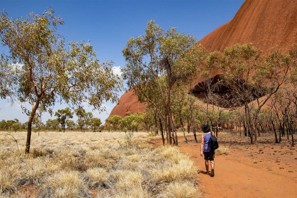 Berti am Uluru