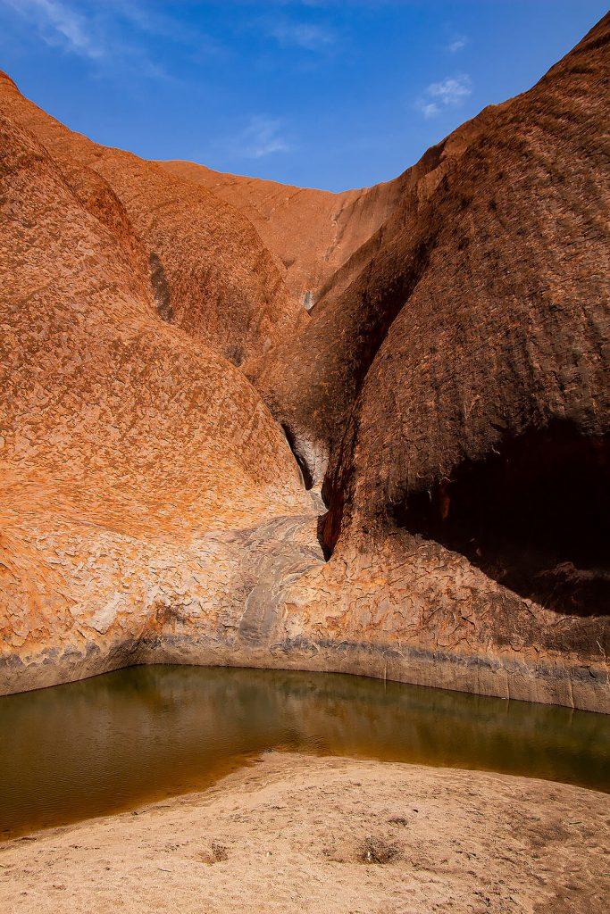 Wasserloch am Uluru