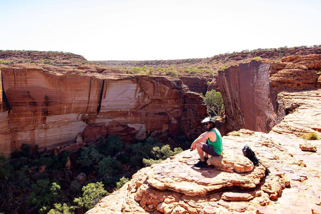 Berti am Kings Canyon