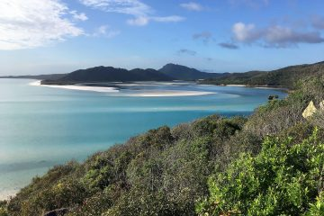 Whitehaven Beach bei den Whitsundays