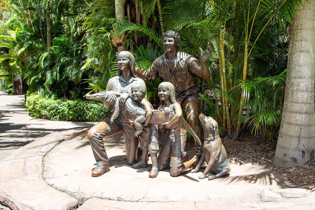 Irwin Familienstatue