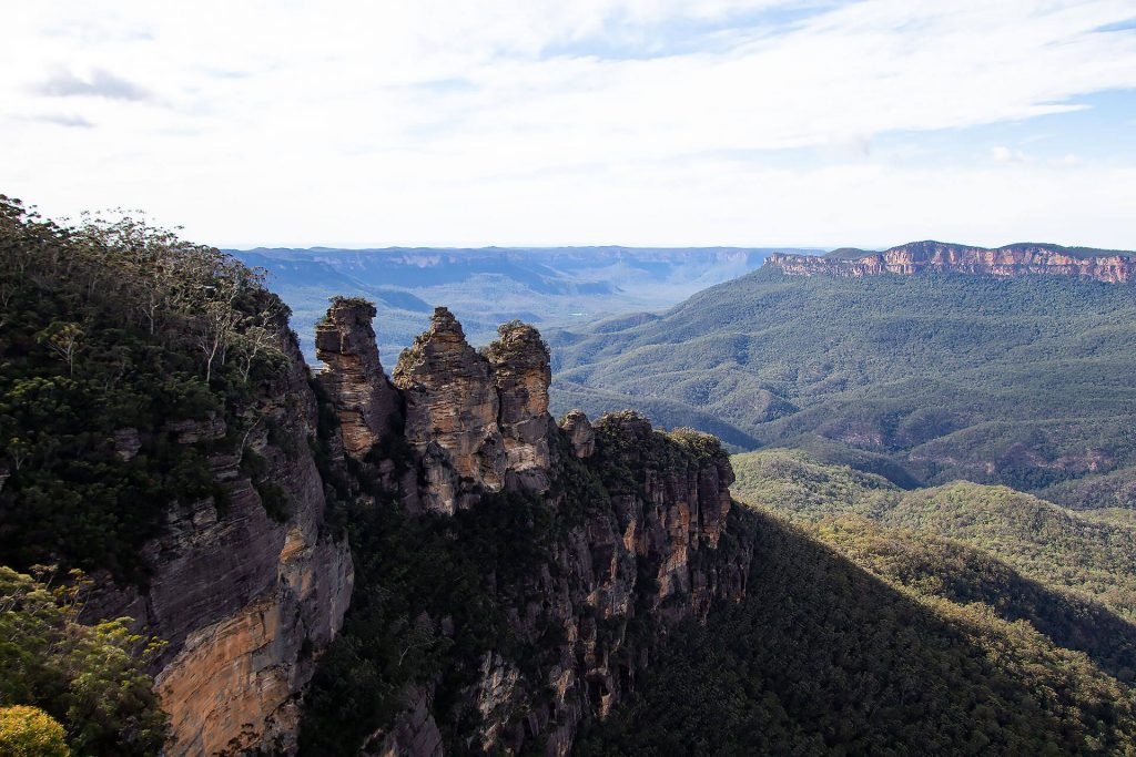 Three Sisters - Queen Elizabeth Lookout