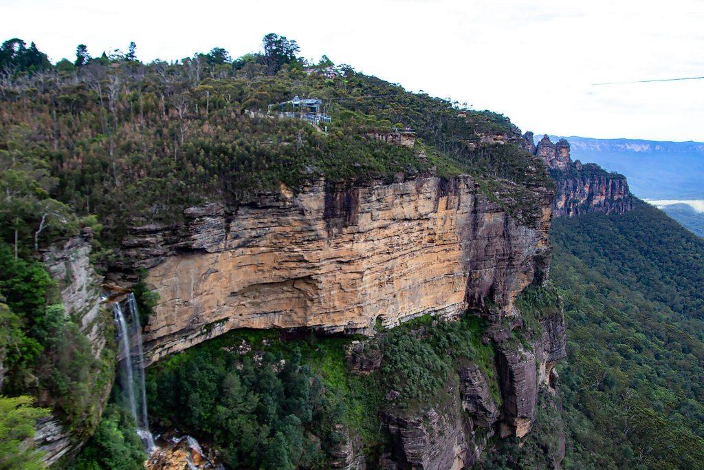 Katoomba Falls und Three Sisters
