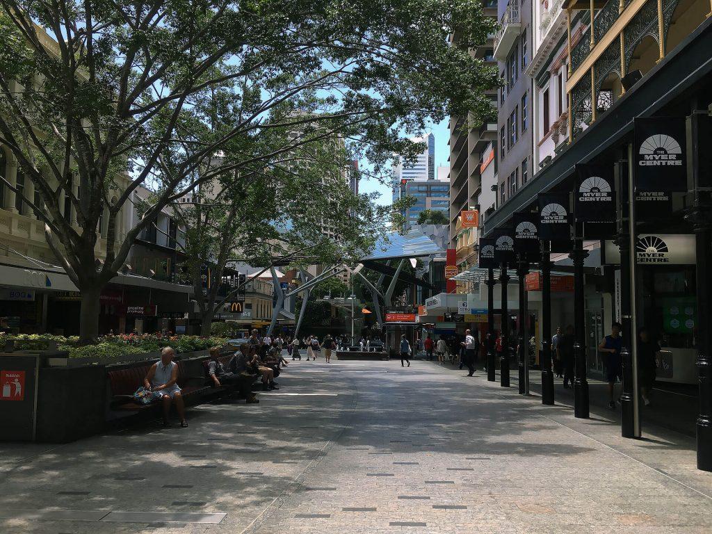 Brisbanes Innenstadt