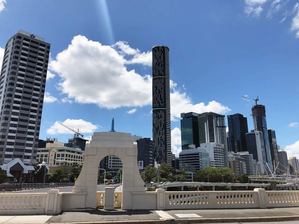 Skyline von Brisbane an der Ostküste