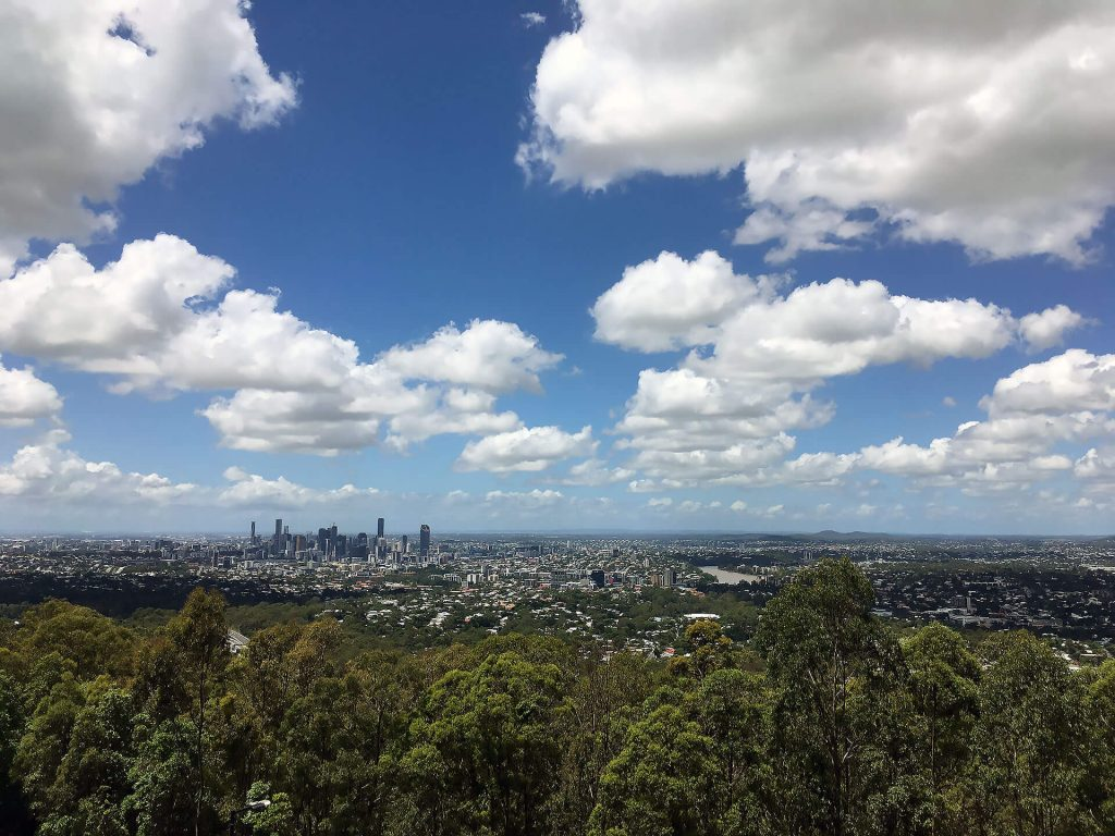 Mt Cook-Tha-Lookout in Brisbane