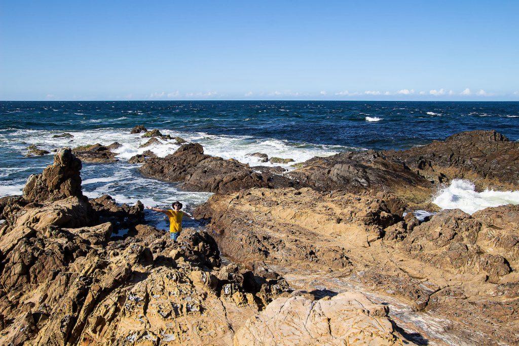 Berti am Cape Byron