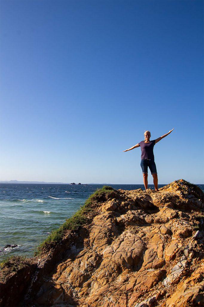 Taschi am Cape Byron an der Ostküste