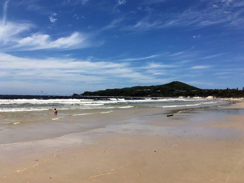 Strand von Byron Bay an der Ostküste
