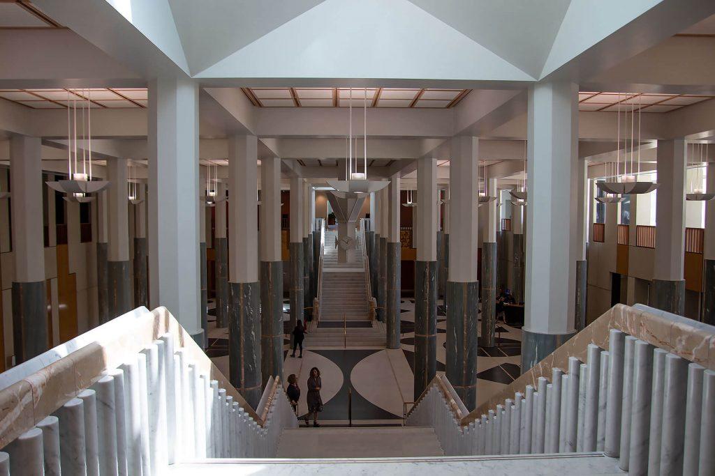 Eingangshalle des Parliament Houses