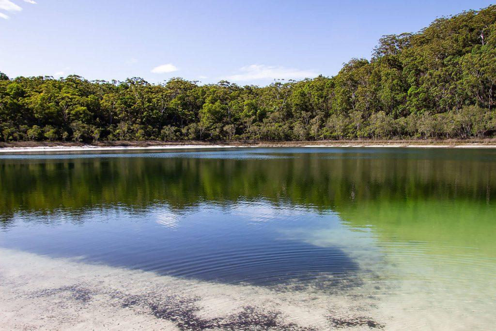 Basin Lake auf Fraser Island