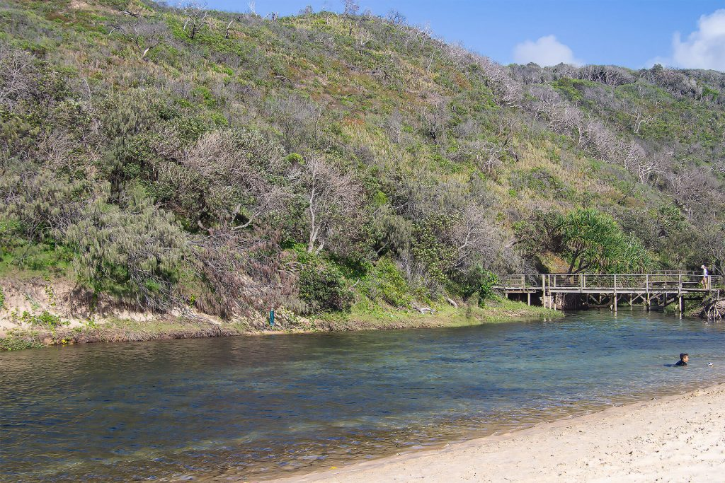 Eli Creek auf Fraser Island