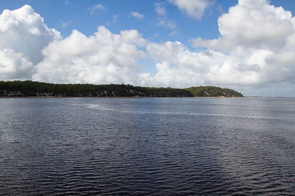 Auf der Fähre nach Fraser Island