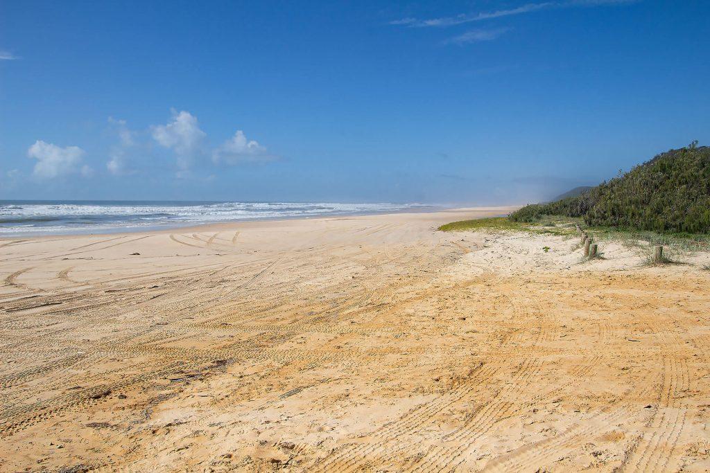 Strand von Fraser Island