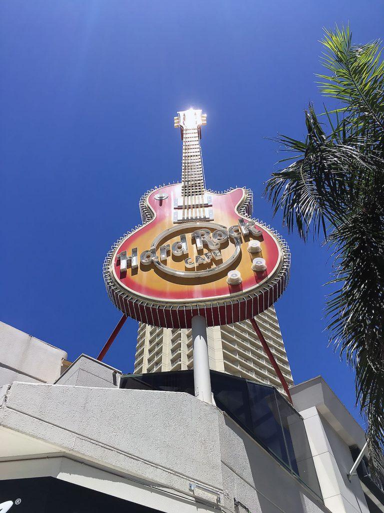 Hard Rock Cafe an der Gold Coast