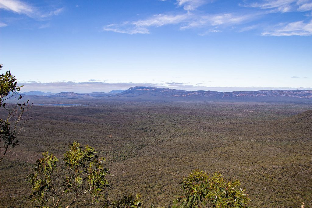 Reed Lookout in den Grampians