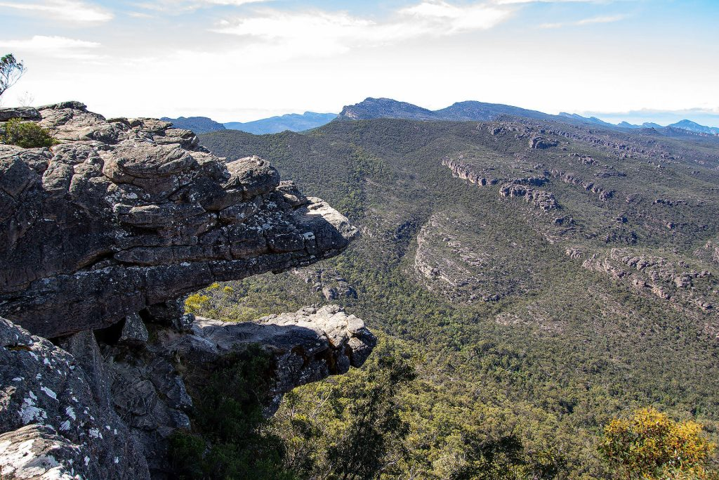 The Balconies in den Grampians