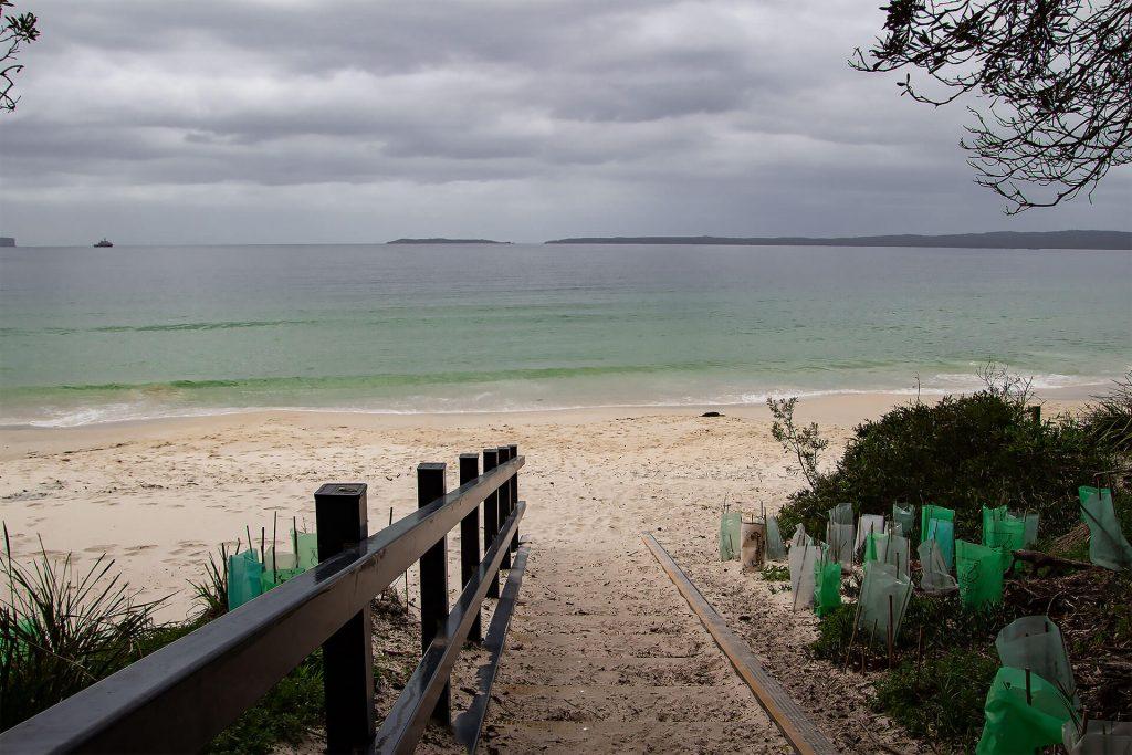 Hyams Beach in der Jervis Bay
