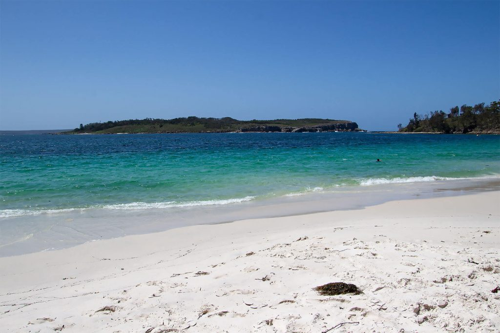Murrays Beach in der Jervis Bay