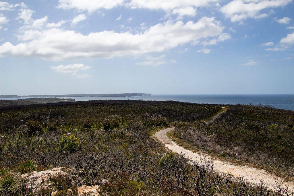 Murrays Trail an der Jervis Bay