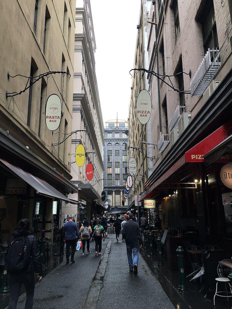 Degraves Street in Melbourne