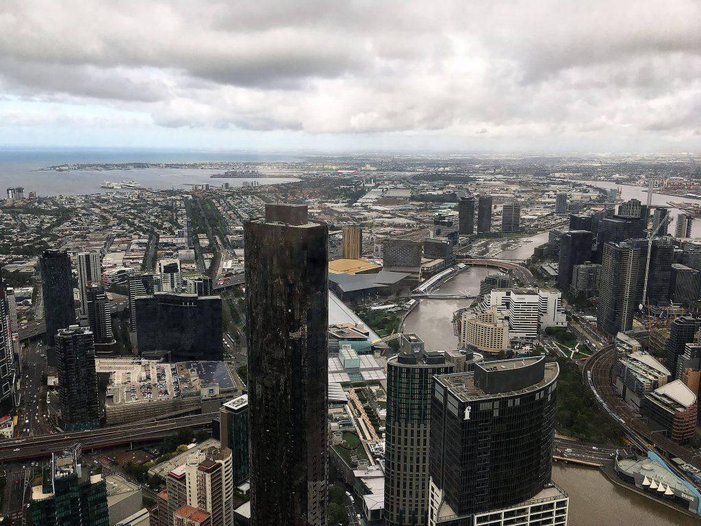 Melbourne von oben - Eureka Tower