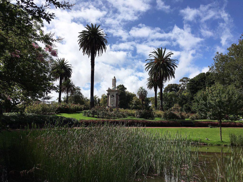 Royal Botanic Garden in Melbourne