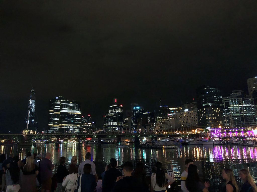 Darling Harbour bei Nacht