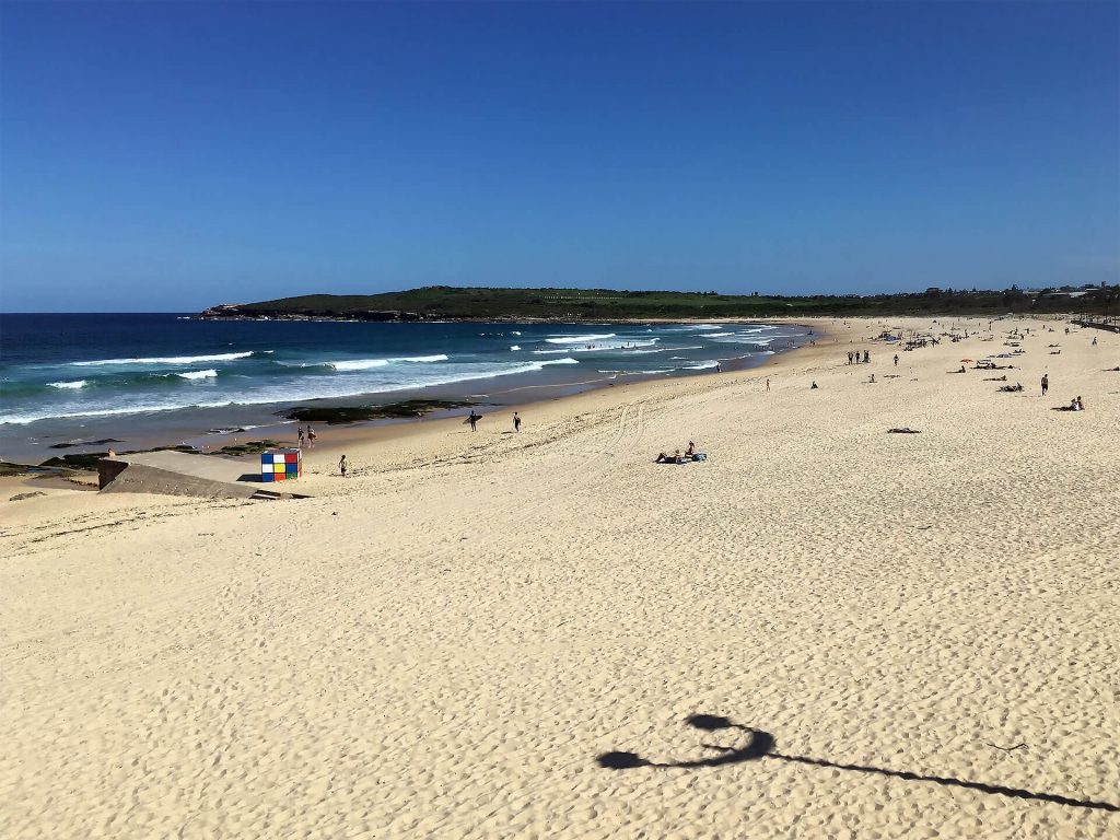 Maroubra Beach in Sydney
