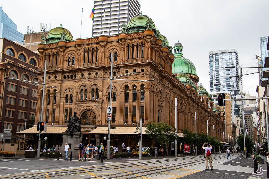 Queen Victoria Building in Sydney