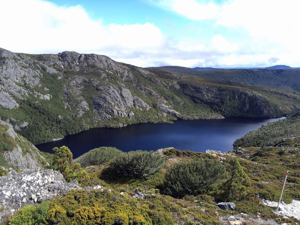 Crater See in Cradle Mountain