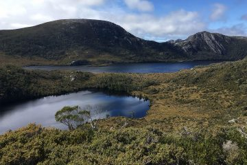 Lilla See und Dove See in Cradle Mountain