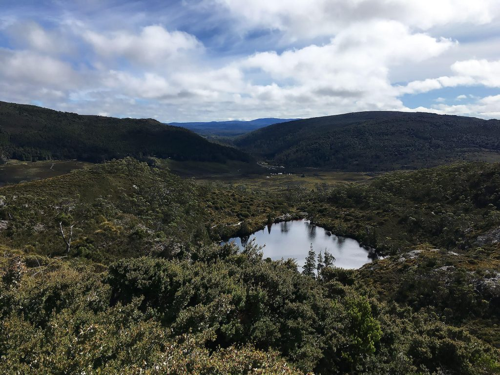 Wombat Pool in Cradle Mountain Nationalpark