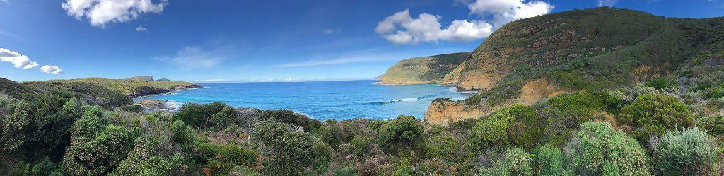 Tasmanien Panoramabild Maingon Bay