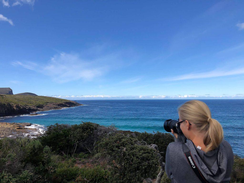 Tasmanien Taschi an der Maingon Bay
